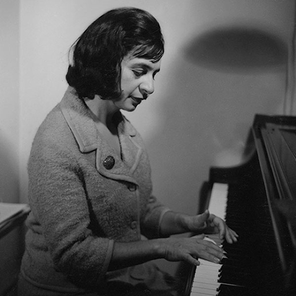 Ursula Mamlok in den 60ern